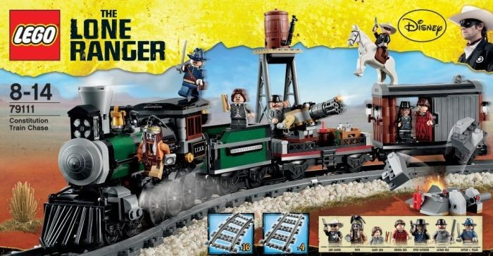 Lego Com The Lone Ranger Products Products 79106 Cavalry Builder ...
