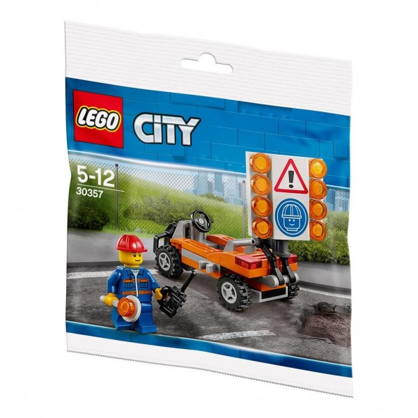 30357 Lego City Road Worker Polybag