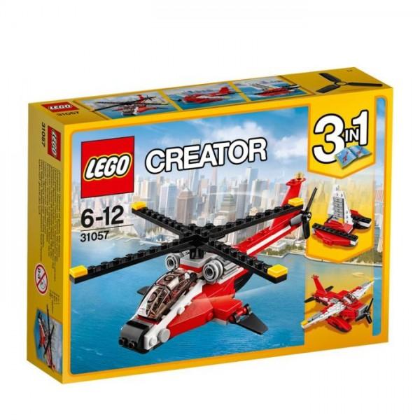 31057 Lego Creator - Rode Helikopter