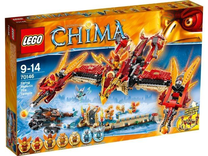 70146 Lego Chima Phoenix Vuurtempel