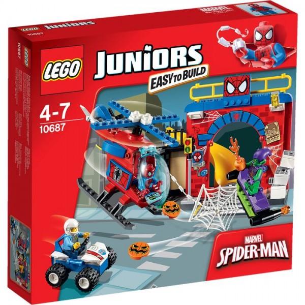10687 Lego Juniors Spiderman Hideout