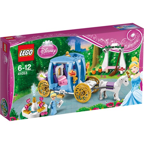 41053 Lego Disney Princess Assepoester Betoverde Koets Lego