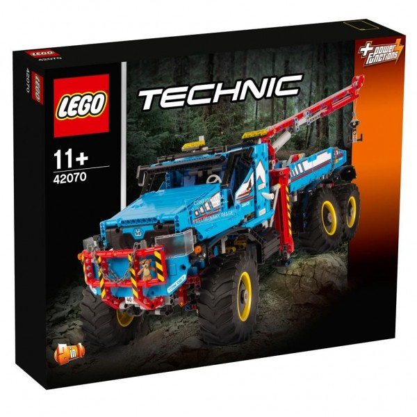 42070 Lego Technic 6x6 Allterrain Sleepwagen