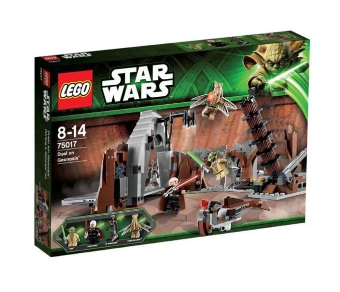 Lees Meer... : 75017 Lego Star Wars Yoda Vs. Dooku Speelset