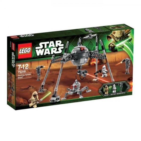 Lees Meer... : 75016 Lego Star Wars Homing Spider Droid