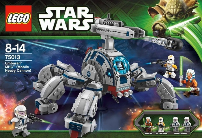 Lees Meer... : 75013 Lego Star Wars Umbaran MHC (Mobile Heavy Cannon)