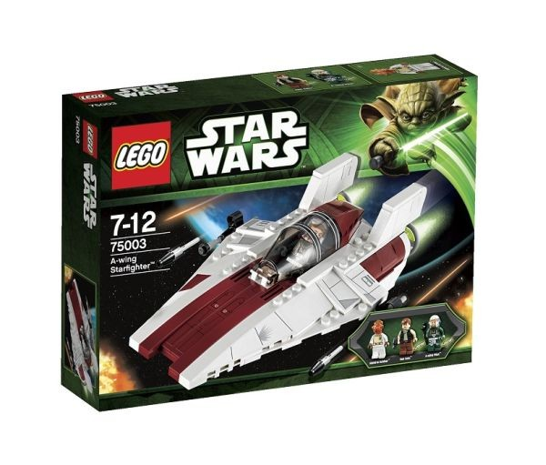 Lees Meer... : 75003 Lego Star Wars A Wing Starfighter
