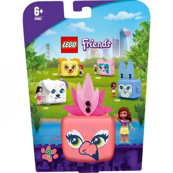 41662 Lego Friends Olivia's Flamingo Cube