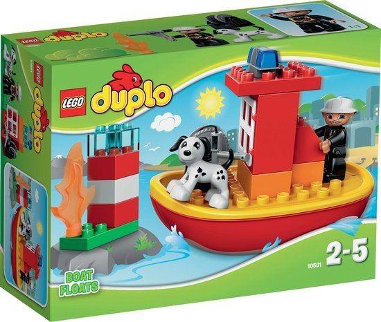 10591 Lego Duplo Brandweerboot