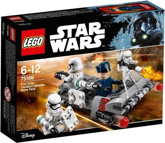 75166 Lego Star Wars First Order Transport Speeder Battle Pack