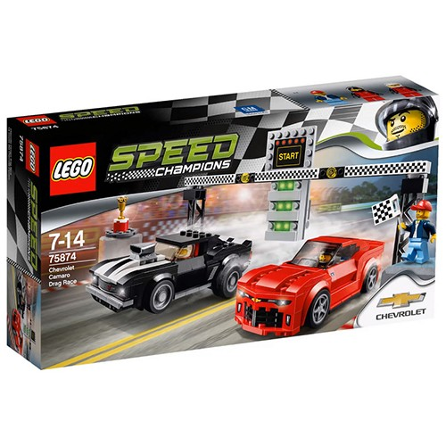 75874 Lego Speed Champions Chevrolet Camaro