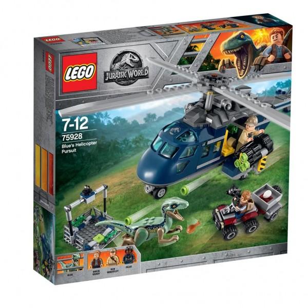 75928 Lego PT IP Helicopterachtervolging Van Blue