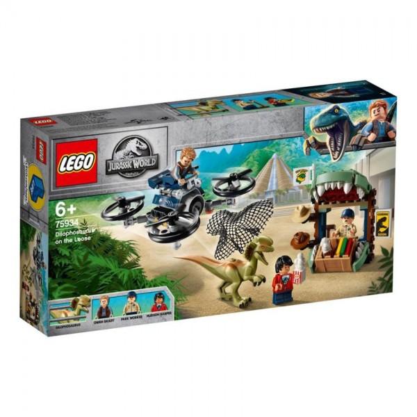 75934 Lego Juriassic World Dilophosaurus Ontsnapt