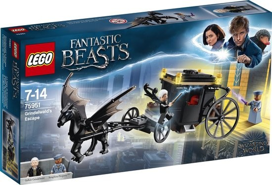 75951 Lego Fantastic Beasts Grindelwalds Ontsnapping