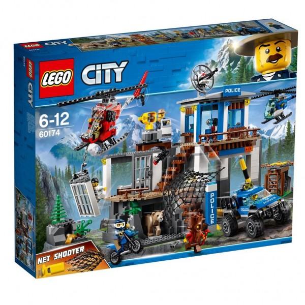 Lego City Politiebureau op de berg - 60174