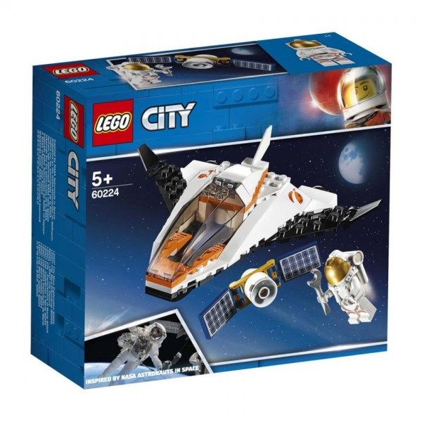 60224 Lego City Sateliettransportmissie