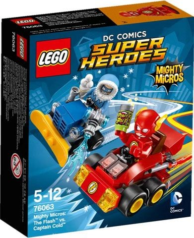 76063 Lego Super Heroes Mighty Micros The Flash Vs. Captain Cold