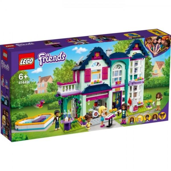41449 Lego Friends Andrea's Family House