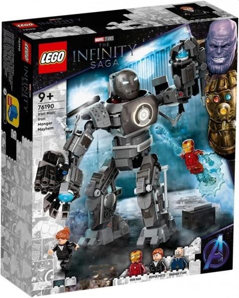 76190 LEGO super heroes Iron Man: Monger Mayhem