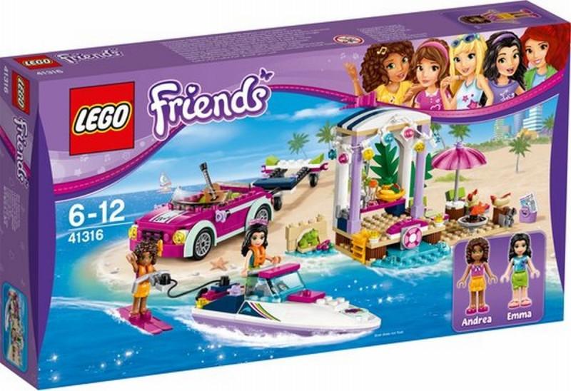 41316 Lego Friends Andrea's Speedboottransport
