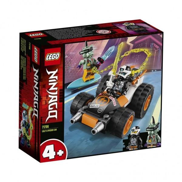 LEGO Ninjago Cole's Speederwagen 71706