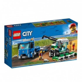 60223 Lego City Maaidorser Transport