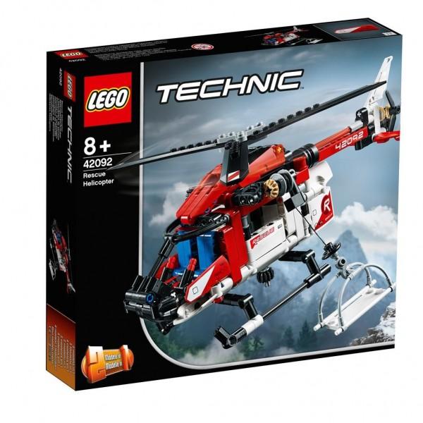 42092 Lego Technic Reddingshelicopter