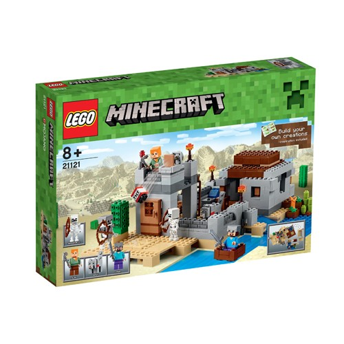 21121 Lego Minecraft Woestijn Uitkijkpost