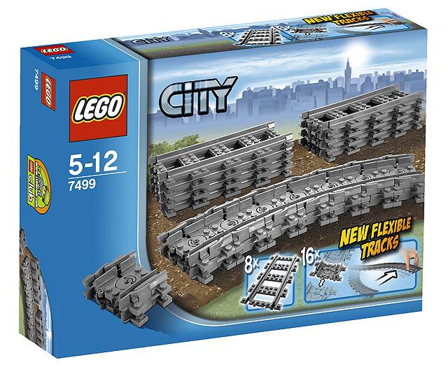 Lees Meer... : Lego 7499 City Flexibele Rails