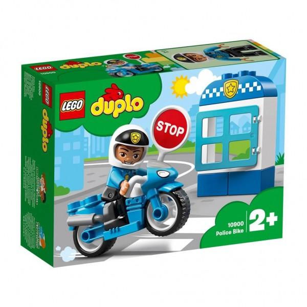 10900 Lego Duplo Mijn Eigen Stad Politiemotor
