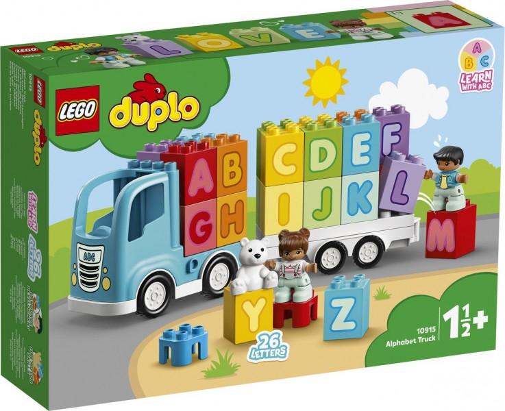 10915 Lego Duplo Alfabet Vrachtwagen