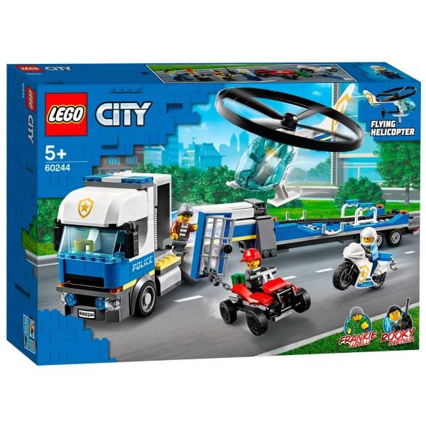 60244 Lego City Politiehelikopter Transport