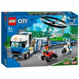 60244 Lego City Politiehelikopter Transport