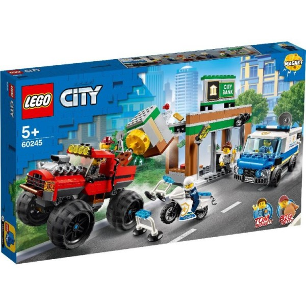 60245 Lego City Police Monster Truck Heist