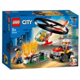 60248 Lego City Brandweerhelikopter Reddingsoperatie