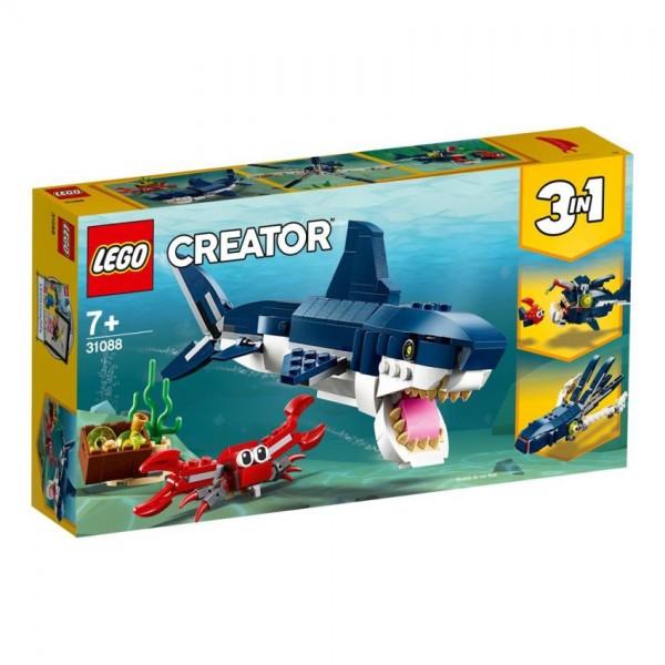 LEGO Creator: Diepzee dieren (31088)