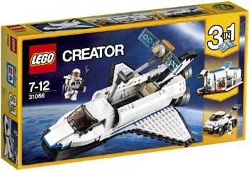31066 Lego Creator Spaceshuttle Verkenner