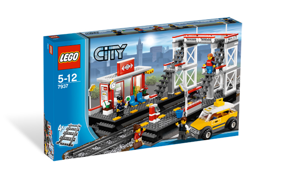 Lees Meer... : Lego 7937 Spoorwegstation