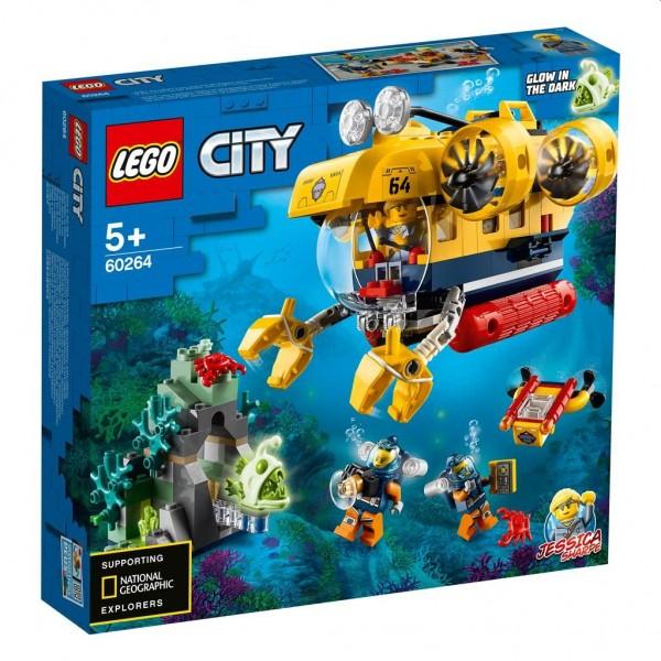 60264 Lego City Oceaan Verkenningsduikboot
