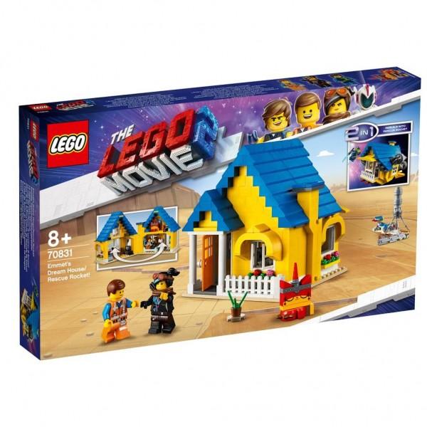 70831 Lego Movie 2 Emmets Droomhuis/Reddingsraket