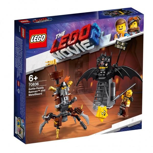 70836 Lego Movie 2 Gevechtsklare Batman En Metaalbaard