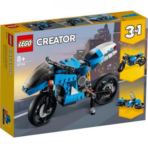 31114 Lego Creator Superbike
