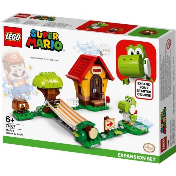 71367 Lego Super Mario Uitbreidingsset: Mario's Huis met Yoshi