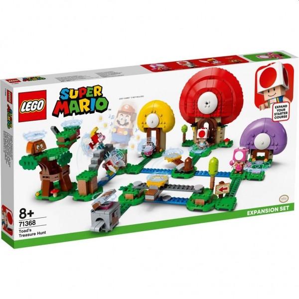71368 Lego Super Mario Uitbreidingsset: Toads Schattenjacht