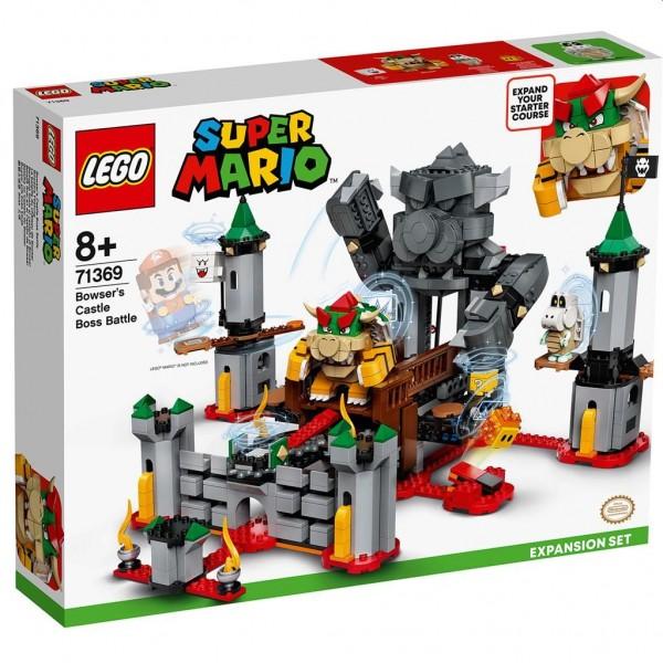 71369 Lego Super Mario Uitbreiding: Eindbaasgevecht op Bowsers Kasteel