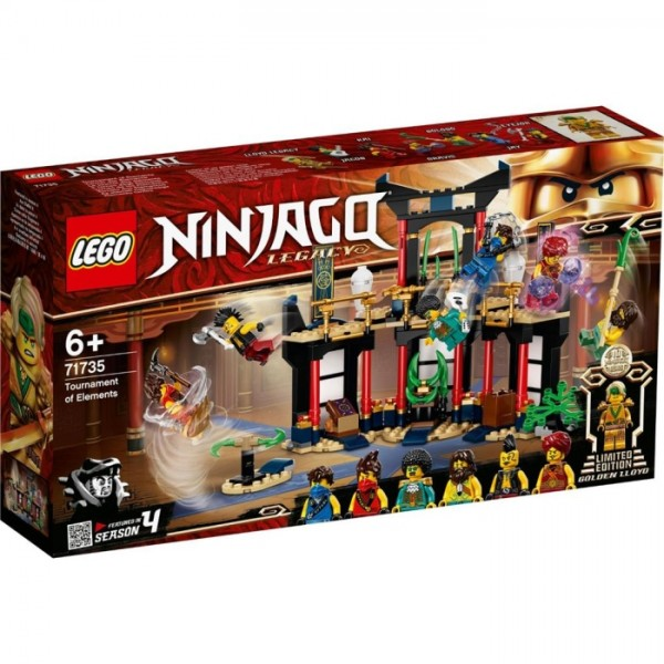 71735 Lego Ninjago Tournament of Elements