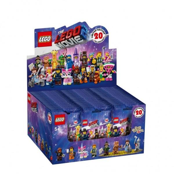 The LEGO® Movie™ 2 Mini Figures Display (60)