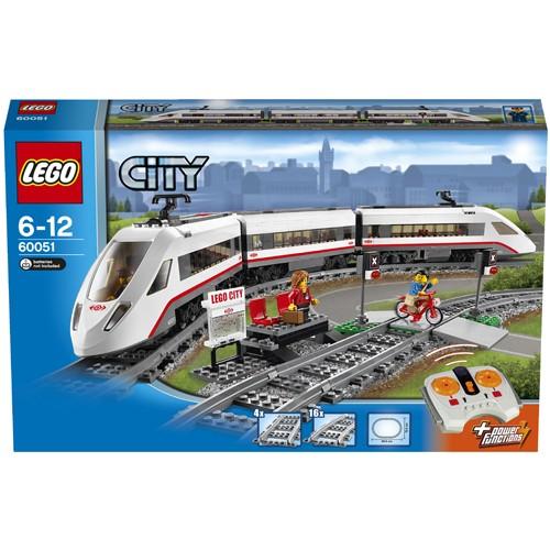 60051 Lego City Passagierstrein Hogesnelheidstrein