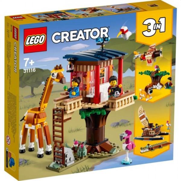 31116 LEGO Creator 3In1 Safari Wilde Dieren Boomhuis