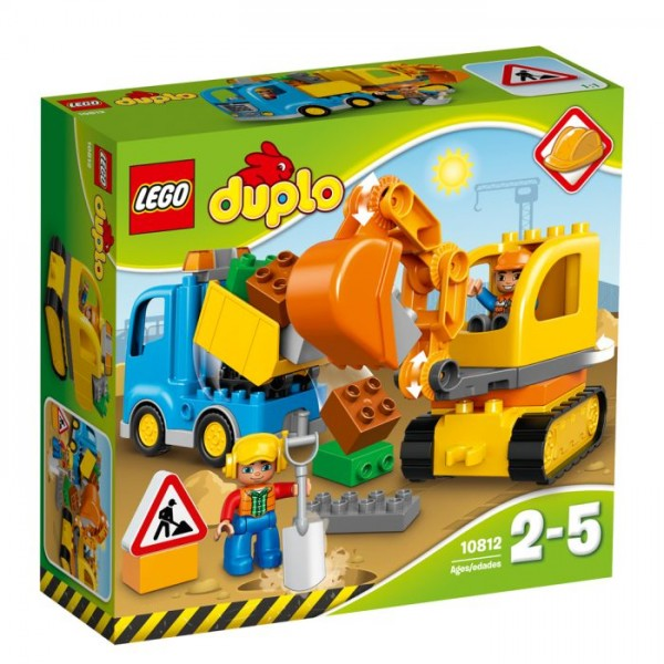 10812 Lego Duplo Rupsband Graafmachine